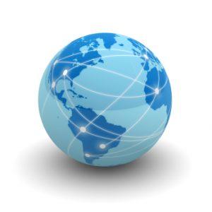 About Us, globe image